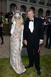 RICHARD BRIGGS and BASIA BRIGGS at The Animal Ball in aid of The Elephant Family held at Lancaster House, London on 9th July 2013.