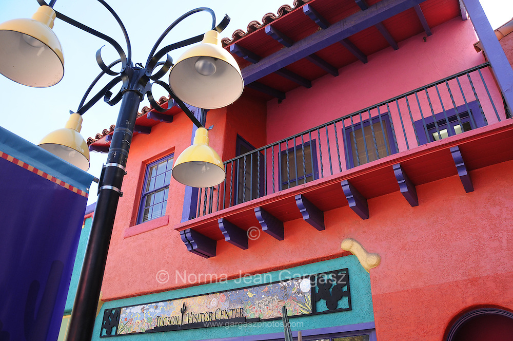 La Placita Village in downtown Tucson, Arizona, USA.