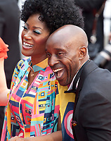 Yolanda Ross and Rob Morgan at the Opening Ceremony and The Dead Don't Die gala screening at the 72nd Cannes Film Festival Tuesday 14th May 2019, Cannes, France. Photo credit: Doreen Kennedy