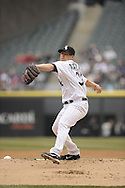 CHICAGO - APRIL 06:  Dylan Axelrod #33 of the Chicago White Sox pitches against the Seattle Mariners on April 06, 2013 at U.S. Cellular Field in Chicago, Illinois.  The White Sox defeated the Mariners 4-3.  (Photo by Ron Vesely)   Subject:  Dylan Axelrod
