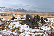 Snæfellsnes in the wintertime.