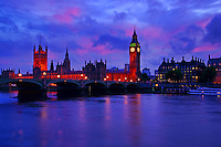 Houses of Parliament @ Sunset, London