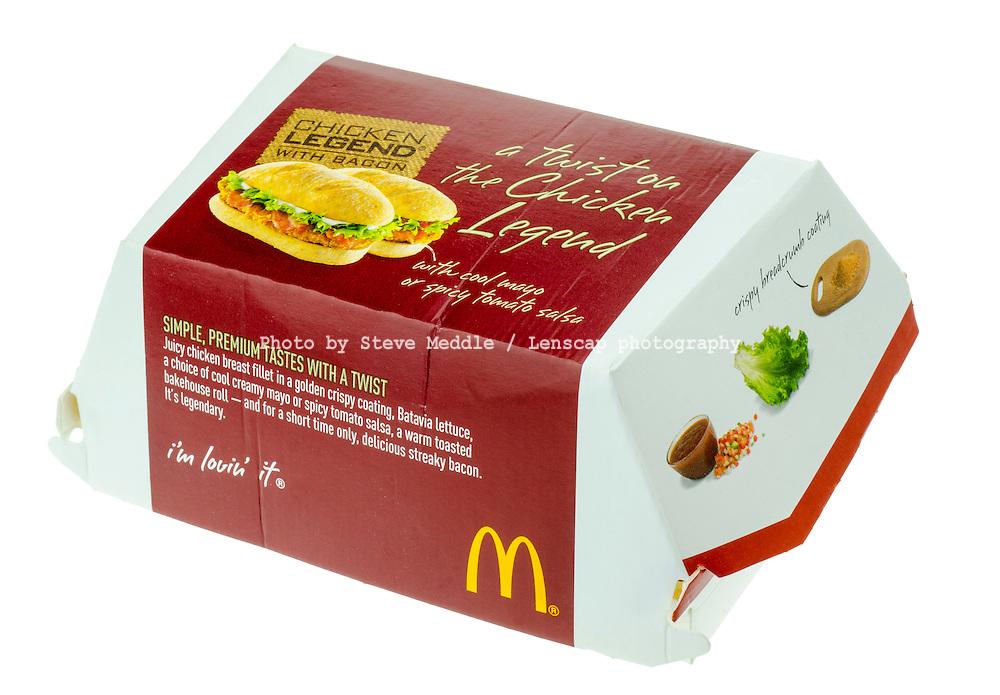 McDonalds Chicken Legend - Jan 2014.