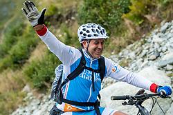 13-09-2017 FRA: BvdGF Tour du Mont Blanc day 4, Trient<br /> Van Chamonix naar Trient. <br /> Alberto