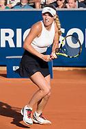 Caroline Wozniacki (Denmark)  at the 2017 WTA Ericsson Open in Båstad, Sweden, July 29, 2017. Photo Credit: Katja Boll/EVENTMEDIA.