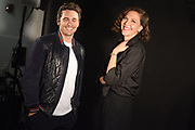 SEPTEMBER 6, 2017-- New York, NY  -- James Franco and Maggie Gyllenhaal come into the NY bureau of USA Today to talk about their new HBO series 'The Deuce,' which tracks the rise of the porn industry in 1970's New York. 9/6/2017  Photo by Jennifer S. Altman, Freelance
