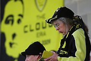 Burton Albion fan during the EFL Sky Bet League 1 match between Burton Albion and Scunthorpe United at the Pirelli Stadium, Burton upon Trent, England on 29 September 2018.