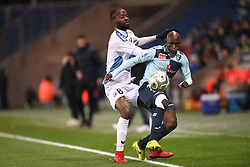 December 15, 2017 - Le Havre, France - Didier Lamkel Ze (nio) - Yacouba Coulibaly  (Credit Image: © Panoramic via ZUMA Press)