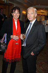 Jockey LESTER PIGGOTT and his daughter MAUREEN HAGGAS at The Sir Peter O'Sullevan Charitable Trust Lunch at The Savoy, London on 23rd November 2005.<br /><br />NON EXCLUSIVE - WORLD RIGHTS