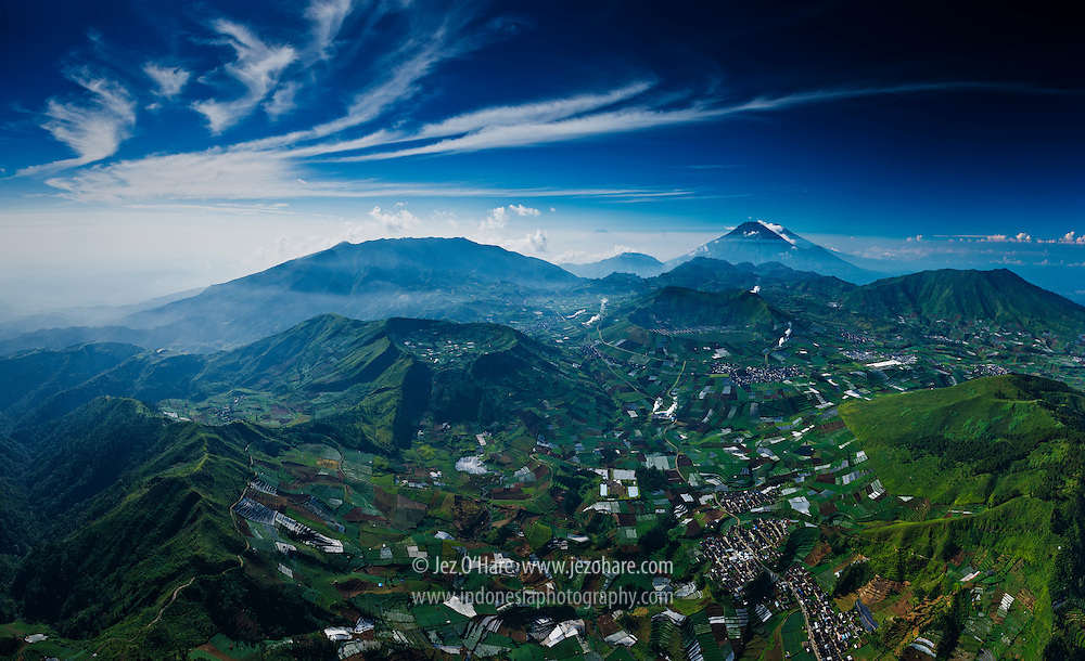 Dieng Plateau, Central Java, Indonesia