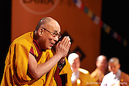Before starting the teachings session about Mindfulness. Dalai Lama