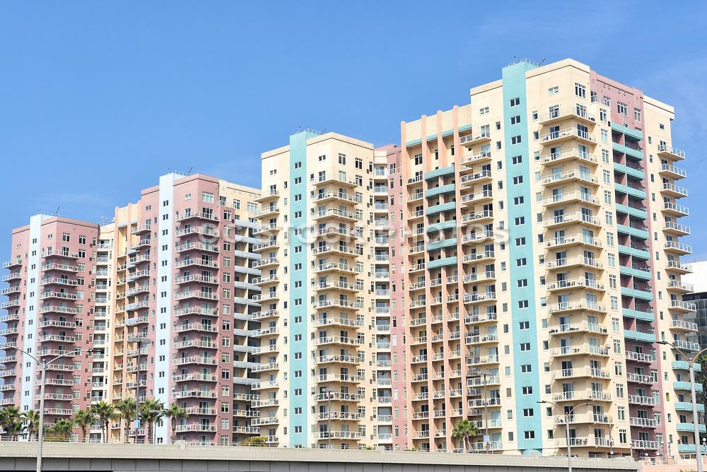 Aqua Condominiums on Ocean Boulevard in Downtown Long Beach