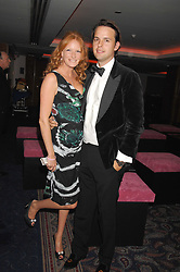 CHARLIE GILKES and OLIVIA INGE at the 2008 Boodles Boxing Ball in aid of the charity Starlight held at the Royal Lancaster Hotel, London on 7th June 2008.<br /> <br /> NON EXCLUSIVE - WORLD RIGHTS