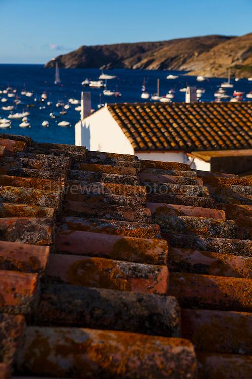 Morning sunlight, Cadaques, Catalonia, Spain