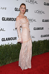 November 14, 2016 - Hollywood, California, U.S. - Amber Heard arrives for the Glamour Women of the Year Awards 2016 at the Neuehouse Hollywood. (Credit Image: © Lisa O'Connor via ZUMA Wire)