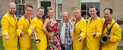 The Jive Aces with Lil' Miss Hayley and Me.....9 September 2012.Image © Paul David Drabble