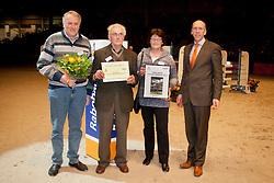 Gebr. Klein - Rheezerveen  fokker van Valentino V<br /> KWPN Hengstenkeuring - 's Hertogenbosch 2012<br /> © Dirk Caremans
