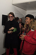 ISABEL MORRIS; PEARL MORRIS;  , Dennis Morris: Public Image Ltd - First Issue to Metal Box - private view, ICA, LONDON. 22 MARCH 2016