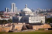 Capitol of Puerto Rico in San Juan, Puerto Rico.
