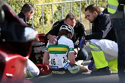 during the Women´s Junior Road Race on day five of the UCI Road World Championships on September 23, 2011 in Copenhagen, Denmark. (Photo by Marjan Kelner / Sportida Photo Agency)