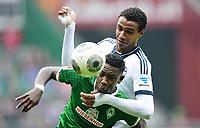 Fotball<br /> Tyskland<br /> 05.04.2014<br /> Foto: Witters/Digitalsport<br /> NORWAY ONLY<br /> <br /> v.l. Eljero Elia (Bremen), Joel Matip<br /> Fussball Bundesliga, SV Werder Bremen - FC Schalke 04