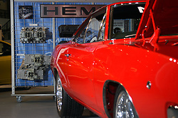 06 February 2005:  Dodge Charger with Hemi<br /> <br /> First staged in 1901, the Chicago Auto Show is the largest auto show in North America and has been held more times than any other auto exposition on the continent.  It has been  presented by the Chicago Automobile Trade Association (CATA) since 1935.  It is held at McCormick Place, Chicago Illinois