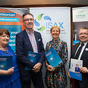 17.05.2016               <br /> A seminar focused on a Start your Own Business programme, targeted at mature entrepreneurs aged 55 plus took place in the Savoy Hotel, Limerick on Tuesday evening, 17 May.  Called Ingenuity, the programme, led by the Ireland Smart Ageing Exchange (ISAX) and sponsored by Bank of Ireland will be run in collaboration with the Local Enterprise Office in Limerick, and will take place over eight weeks, starting in late September 2016.  The seminar provided detailed information on the Start your Own Business programme that will seek interest from those looking to set up both lifestyle and fast-growth businesses.  <br /> <br /> Pictured at the event are, Aine Cuddihy, Mini Cake Company, Pat Carroll, Start-up Community Manager, Bank of Ireland, Briga Hynes, UL and Finbar Tuohy, Local Enterprise Office, Clare. Picture: Alan Place
