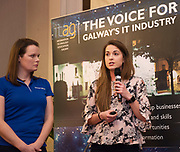 Repro  Free: Laura Kennedy and Ciara McDonnell Smart bear at  ITAG Members Update evening where some of the Nominees pitched their projects.   <br /> The ITAG Excellence Awards will take place on  November 17th Hotel Meyrick, Eyre Square, Galway.<br /> Winners in the following categories will be announced: <br />     New Talent of the Year Award<br />     Digital Woman Awards<br />     Emerging Technology Start Up Award<br />     Leadership Award<br />     Technology Innovation of the Year Award<br />     Digital Project Award<br />     ITAG Digital Enterprise Award < 50 Employees<br />     ITAG Digital Enterprise Award > 50 Employees.<br />  <br />  Photo:Andrew Downes, xposure.