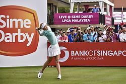 October 26, 2017 - Kuala Lumpur, Malaysia - Michelle Wie of USA during day one of the Sime Darby LPGA Malaysia at TPC Kuala Lumpur on October 26, 2017 in Kuala Lumpur, Malaysia. (Credit Image: © Chris Jung/NurPhoto via ZUMA Press)