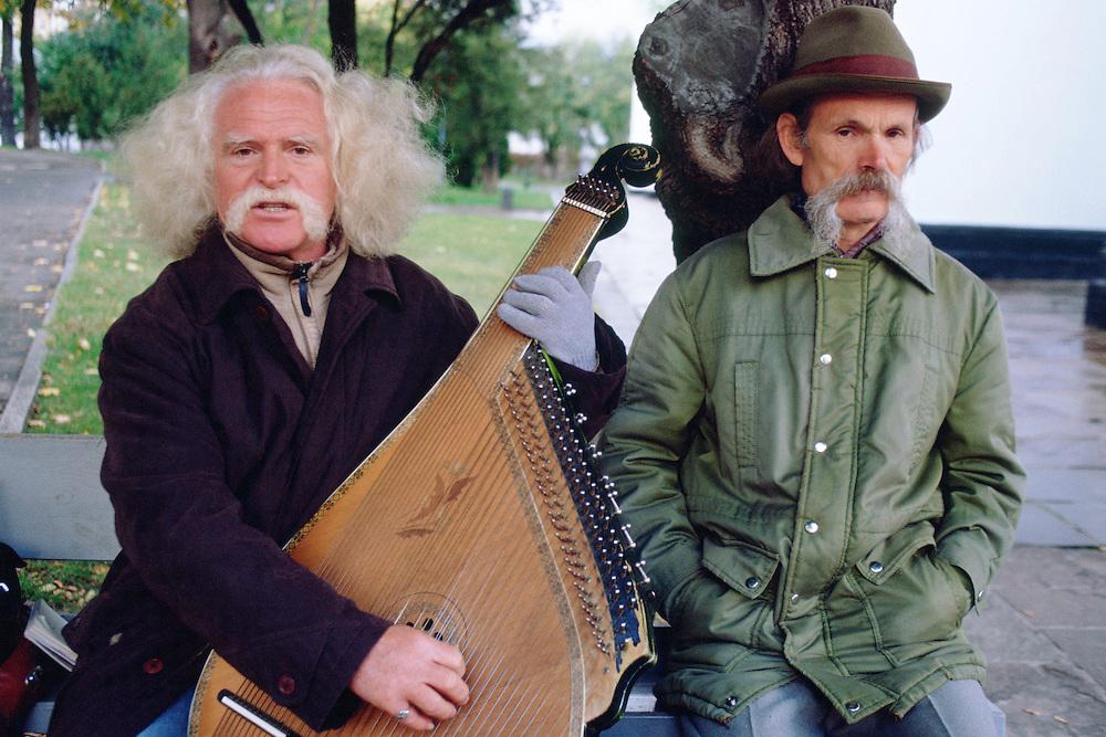 Ukraine. Kiev. Street musicians. <br /> <br /> © JOAN COSTA