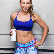 Samantha Kozuch poses for a fitness portrait on Sunday, June 10, 2018 in Los Angeles.