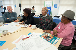 Sheffield Link - Care Homes for Older People Action Group Workshop and Launch Event at Sorby House Spital Hill Sheffield..4th November 2010.Images © Paul David Drabble