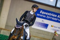 Braspenning Merel, BEL, Parco van't Hollandhof<br /> Nationaal Indoor Kampioenschap Pony's LRV <br /> Oud Heverlee 2019<br /> © Hippo Foto - Dirk Caremans<br /> 09/03/2019