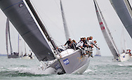 Werewolf, racing in IRC class 0 during Aberdeen Asset Management Cowes Week. <br /> Picture date Tuesday 5th August, 2014.<br /> Picture by Christopher Ison. Contact +447544 044177 chris@christopherison.com