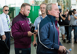 Wayne Rooney during arrival of  England National Football team 1 day before EURO 2016 Qualifications match against Slovenia, on June 13, 2015 in Airport Joze Pucnik, Brnik - Ljubljana, Slovenia. Photo by Vid Ponikvar / Sportida