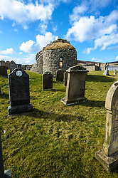 The Orphir round kirk, Orkney.  Built in the late 11th, or early 12th century, the Orphir Round Kirk is thought to have been built by Earl Hakon. Dedicated to Saint Nicholas, its design was inspired by the Church of the Holy Sepulcher in Jerusalem.<br /> <br /> At the time of the kirk's construction, the Great Crusades were in full swing and the circular church had become a popular design with returning crusaders attempting to copy the famous structure in the Holy Land.<br /> <br /> (c) Andrew Wilson | Edinburgh Elite media