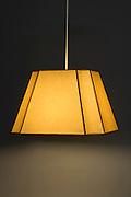 illuminated lamp with a shade