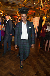 PRINCE CASSIUS at the Cointreau Creative Crew Launch at the Cafe Royal, Regent's Street, London on 27th October 2015.