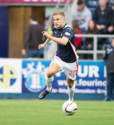 Falkirk's Alex Cooper. Falkirk 0 v 2 Rangers, Scottish Championship game played 15/8/2014 at The Falkirk Stadium.