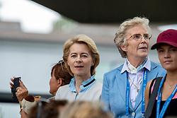 von der Leyen Ursula, Winter-Schulze Madeleine, GER<br /> CHIO Aachen 2019<br /> Weltfest des Pferdesports<br /> © Hippo Foto - Stefan Lafrentz<br /> von der Leyen Ursula, Winter-Schulze Madeleine, GER