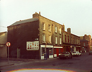Old Dublin Amature Photos December 1983 WITH, Ellis Quay, Sarsfield Quay, Queen St, Old Ware House,