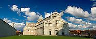 The Duomo & Bapistry of Pisa, Italy