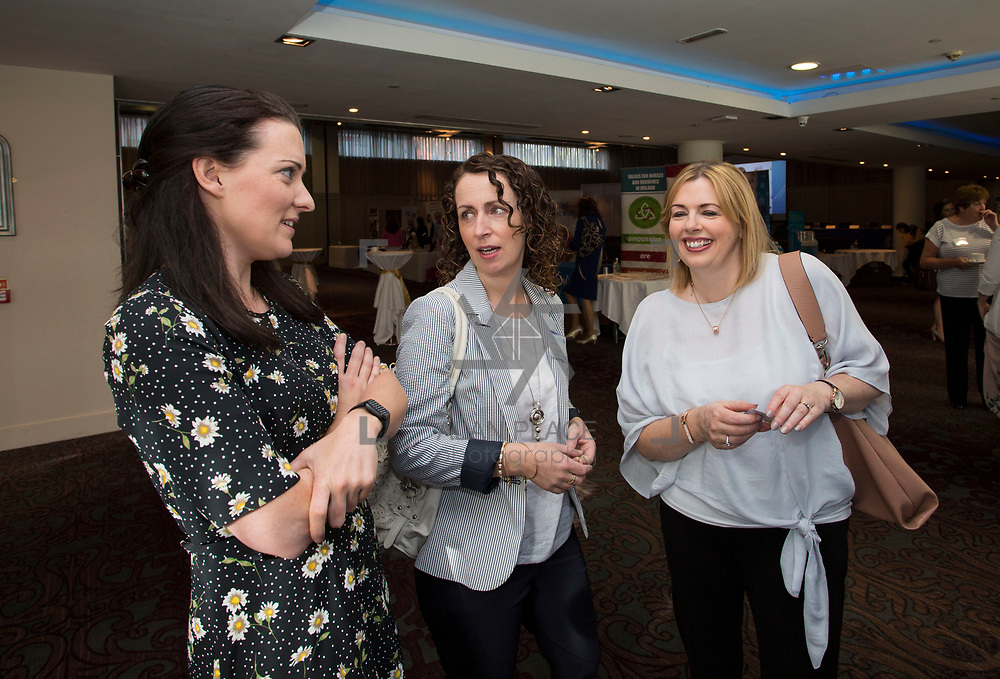 23.05.2018.       <br /> Today, the Institute of Community Health Nursing (ICHN) hosted its2018 community nurseawards in association withHome Instead Senior Care,at its annual nursing conference, in the Strand Hotel Limerick, rewarding public health nurses for their dedication to community care across the country. <br /> <br /> Pictured at the event were, Teresa McIntyre, Anne O'Connor and Rosaleen O'Kane. Picture: Alan Place
