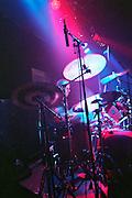 Israel, Tel Aviv, the drummer during a Heavy Metal rock performance