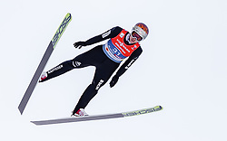 28.02.2019, Seefeld, AUT, FIS Weltmeisterschaften Ski Nordisch, Seefeld 2019, Nordische Kombination, Skisprung, im Bild Tim Hug (SUI) // Tim Hug of Switzerland during the Ski Jumping competition for Nordic Combined of FIS Nordic Ski World Championships 2019. Seefeld, Austria on 2019/02/28. EXPA Pictures © 2019, PhotoCredit: EXPA/ JFK