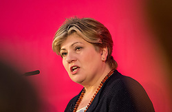 © Licensed to London News Pictures. 01/02/2020. Bristol, UK. EMILY THORNBERRY at the Labour Party Leadership Hustings, at Ashton Gate Stadium. Candidates: Emily Thornberry, Lisa Nandy, Kier Starmer, Rebecca Long-Bailey. Photo credit: Simon Chapman/LNP.