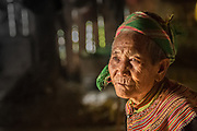 An elderly Vietnamese woman showed us her home and her still near Bac Ha, Vietnam.