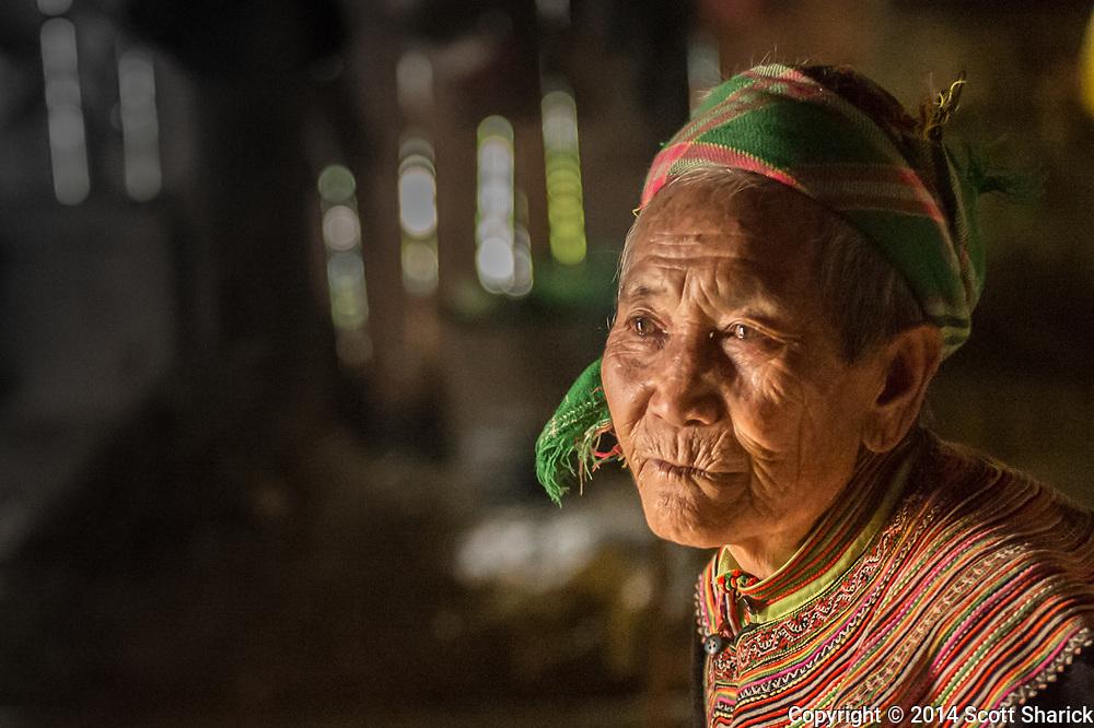 An elderly Vietnamese woman showed us her home and her still near Bac Ha, Vietnam.