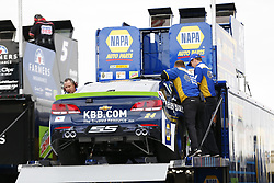 September 22, 2017 - Loudon, New Hampshire, United States of America - September 22, 2017 - Loudon, New Hampshire, USA: Chase Elliott (24) makes heavy contact with the wall during practice resulting in the crew having to pull out a backup car for the ISM Connect 300 at New Hampshire Motor Speedway in Loudon, New Hampshire. (Credit Image: © Justin R. Noe Asp Inc/ASP via ZUMA Wire)