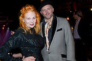 VIVIENNE WESTWOOD; JOE CORRE, ICA Annual Institute of Contemporary Arts Fundraising Gala. Koko's Camden. London. 24 March 2010